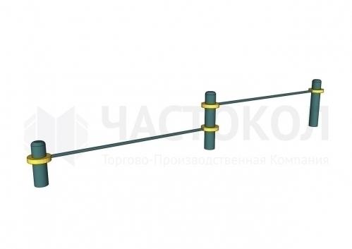 ТБ-006 Перекладины для отжиманий (низкие)